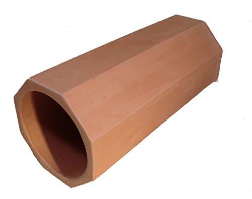 Elmato 10534 Tonröhre Tontunnel f.Kaninchen,Meerschweinchen,Degu