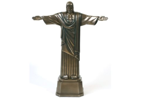 Christ The Redeemer Bronze Finish Statue Jesus