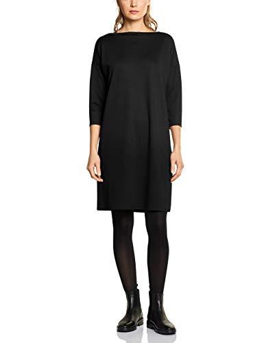 Street One Damen 142560 Kleid, Schwarz (Black 10001), (Herstellergröße:42)