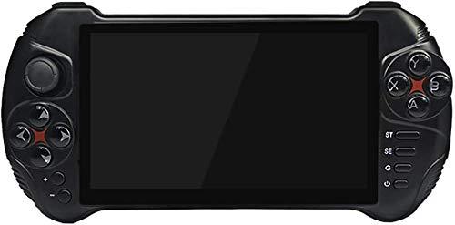 JFZCBXD Portable Console de Jeux Portable de Jeu 5.5 Pouces écran Quad Core Support TV Sortie vidéo