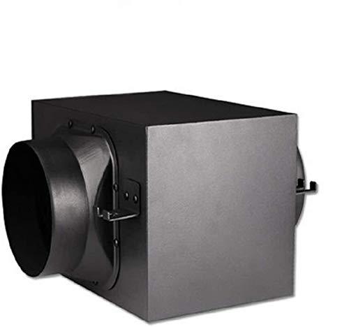 Flujo mixto línea de conducto extractor de humos industria del ventilador de 200 mm de diámetro for el baño, oficina, hotel, sala, hidropónica (filtración eficiente de PM 2.5) del filtro de tres capas