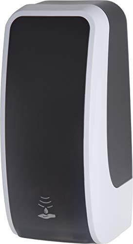 Set Seifenspender mit 6 Kartuschen Seife (Schwarz/Weiß)