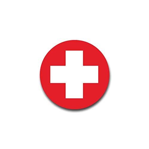 Aufkleber/Sticker Schweiz Fahne Bern Suisse Svizzera Switzerland 7x7cm A1353