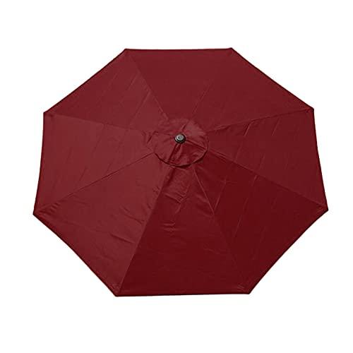æ— Paraguas de patio de 3 m, toldo de repuesto para sombrilla...