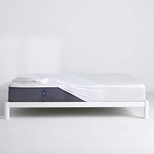 Casper Sleep Waterproof Mattress Protector, Queen, White