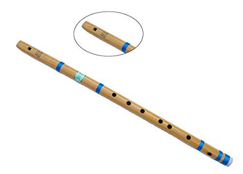 Flauta de concierto profesional DD de 61 cm | flauta de bamb