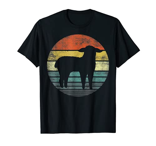 Sheep Lover Gifts Funny Farmer Retro Vintage Farm Animals T-Shirt