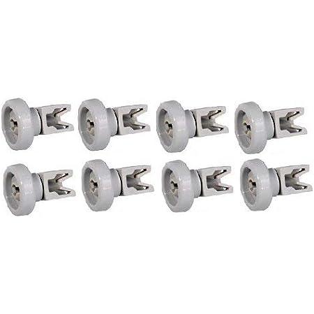 8 Korbrollen Räder Spülmaschine für Aeg Electrolux F54760 F44860 F54850 F44860