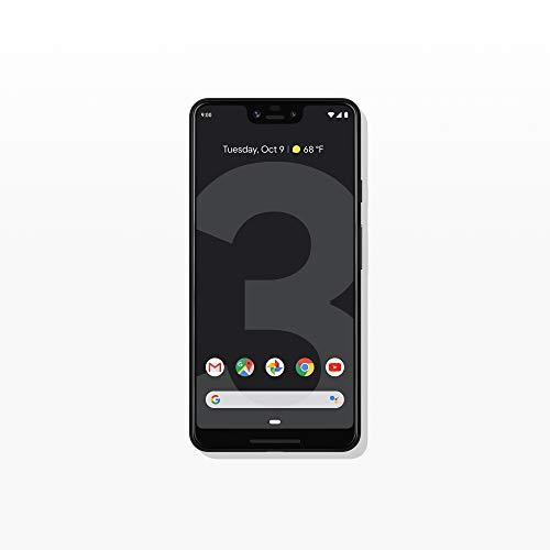 Google - Pixel 3 XL com telefone celular 128GB de memória (desbloqueado) - Just Preto