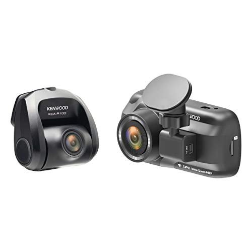 Kenwood DRV-A501WDP 3' HD Dashcam with Wi-Fi