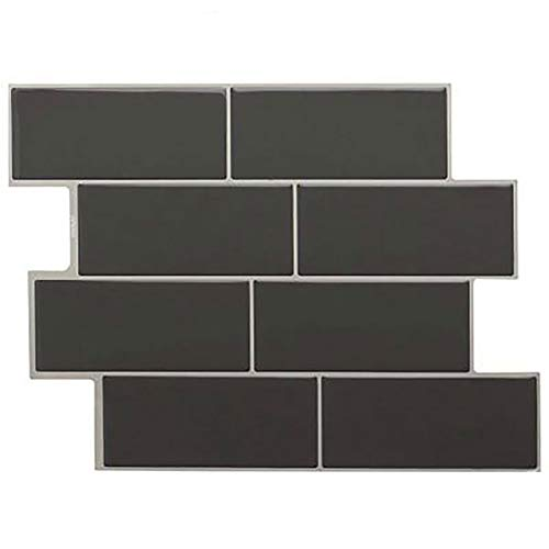 ZMYNB Peel and Stick Aufkantung, 3D Stone Wallpaper Rock-Self-Adhesive Kontakt Papier Wandpaneel Removable Dekoration, 11.56'X8.38 X 10 Tiles