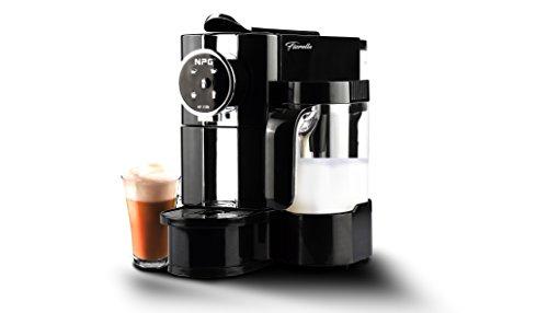 Cafetera Fiorella NP-150B Compatible con Sistema Nespresso + Pack 10 capsulas Regalo