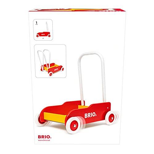 Brio 31350 – Lauflernwagen rot-gelb - 2