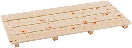 池川木材 【国産】 桧 厚板すのこ 4枚打 (85×37cm)