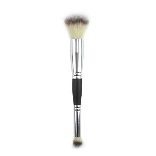 LUFA Outils Professionnels de beauté de Brosse de Fard à Joues de Pinceau de Brosse de Maquillage de Double-tête Professionnelle