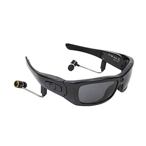 HXSD Cámara de gafas de sol Bluetooth, Full HD 1080P con ángulo de 65 grados mini cámara para deportes al aire libre