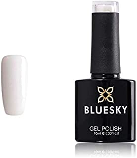 Bluesky D275 francés Soak Off UVLED esmalte de uñas de gel base de color blanco lechoso 10 ml