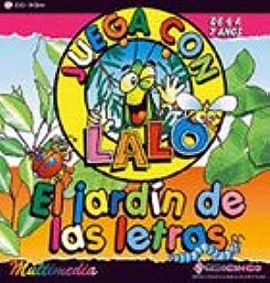 El jardín de las letras. Juega con Lalo. (CD)  - Versión comercial -: Amazon.es: Juguetes y juegos