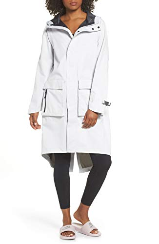 Nike Women's NikeLab City Ready Hooded NRG Anorak Jacket - Carbon Grey (Medium)