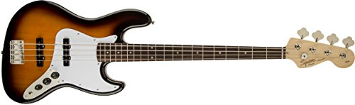Squier by Fender Affinity Series Jazz Bass - Diapasón Laurel - Marrón Sunburst