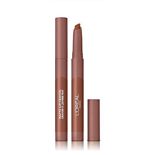 L Oréal Paris Infallible Very Matte Lip Crayon, Rossetto Effetto Opaco, Colore Très Sweet (104)