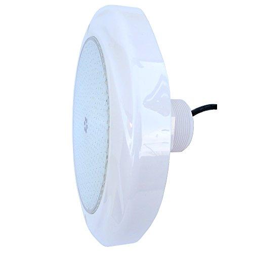 Foco LED para piscina de Alfa, Chromatic Plus, 12 V, 35 W, RGB, multicolor, pared de acero y piscina de poliéster