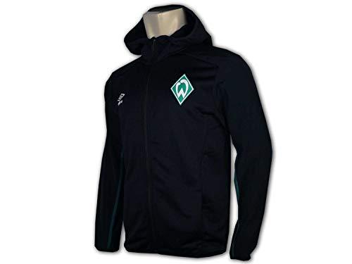 UMBRO SV Werder Bremen Kapuzenjacke Herren schwarz/dunkelgrün, XXL