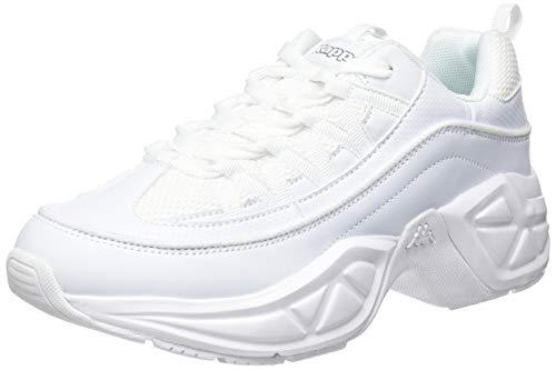 Kappa Values, Zapatillas Mujer, Blanco White 1010