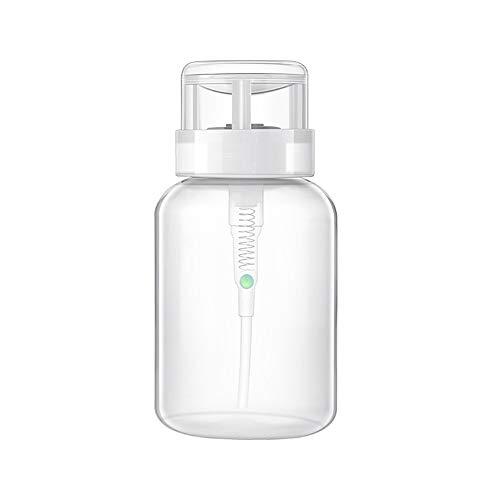 Love lamp 200 / 150ml vides Ongles en Plastique Liquide conteneurs Remover Presse Polonaise de pompage Bouteille Distributeur for Nail Art UV Gel Nettoyant (Color : Light Green, Material : 1pc)