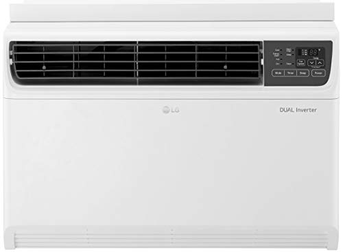 LG 1.5 Ton 3 Star Inverter Window AC (Copper, JW-Q18WUXA1, White, Top Air Discharge)
