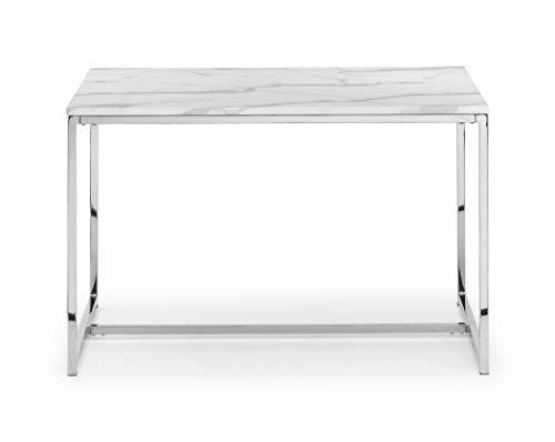 Julian Bowen Scala-Tavolo da Pranzo 120 x 80 cm, MDF e Metallo, taglia unica
