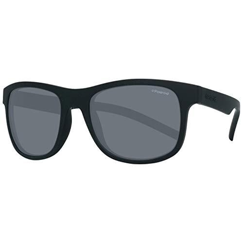 Polaroid PLD 6015/S Y2 YYV Gafas de sol, Negro (Black Rubber/Grey Pz), 51 Unisex Adulto