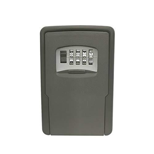 Key BoxKey - Caja de seguridad (135 x 90 x 40 mm, tamaño de oficina (110 x 67 x 30 mm), color verde