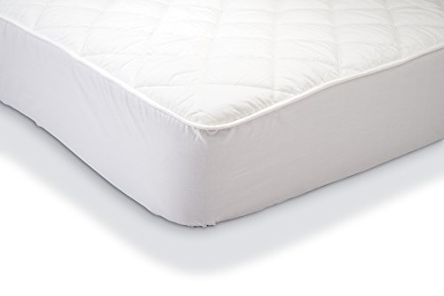 AmazonBasics Waterproof Quilted Mattress Protector 150 x 200 cm