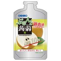 オリヒロ ぷるんと蒟蒻ゼリー 梨 100gパウチショット×36個入×(2ケース)