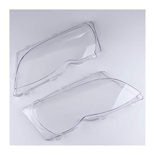Scheinwerferglas 2ST Auto-Lichter Scheinwerfer Objektiv Shell Lampenabdeckung Ersatzglas for BMW E46 318i / 320i / 325i / 325xi / 330i / 330xi (2002-2005) Auto Scheinwerfer Objektiv