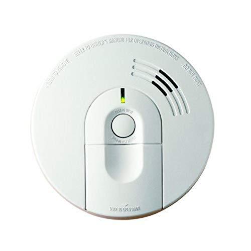 Kidde 21007584 i4618 Firex Hardwire Ionization Smoke Detector with Battery Backup, White