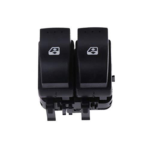 DAI QI Interruptor de Control eléctrico de Ventana de Coche Doble para Renault Clio II Dropshipping