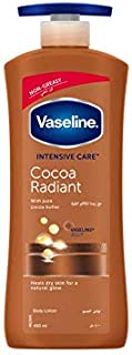 Vaseline Intensive Care Cocoa Radiant Body Lotion, 400ml