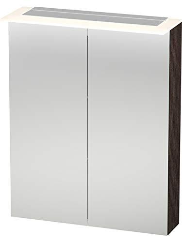 Duravit Spiegelschrank X-Large 138x600x760mm 2 Spiegeltüren, LED, kastanie dunkel, XL759205353
