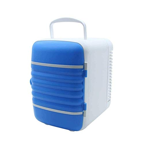 SCXBX Mini réfrigérateur à Boissons Compact, idéal for Garder Le Bureau (Color : Blue)
