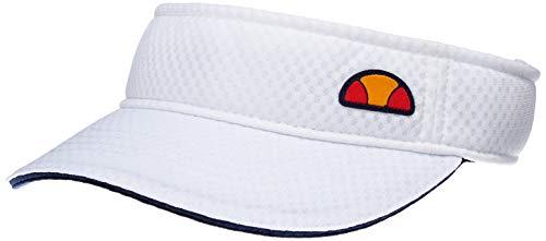 [エレッセ] テニスウェア プラクティスサンバイザー [ユニセックス] EAC1902 ホワイト (W) 日本 S (52-54cm) (日本サイズS相当)