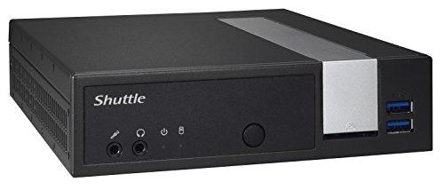 Shuttle Xpc Slim PC-System Dx3000X A 2Ghz J3355Pc-Größe 1L schwarz