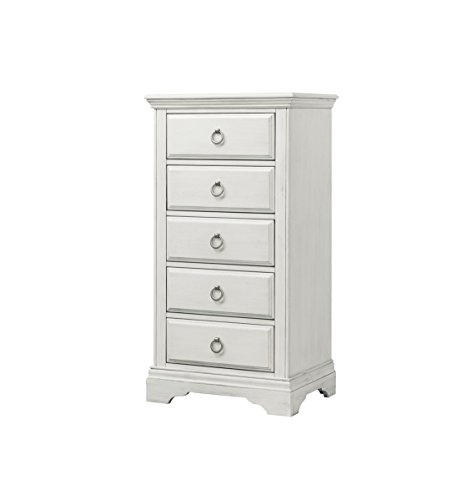 Check Out This Westwood Design Riley 5 Drawer Pier Chest, Brushed White