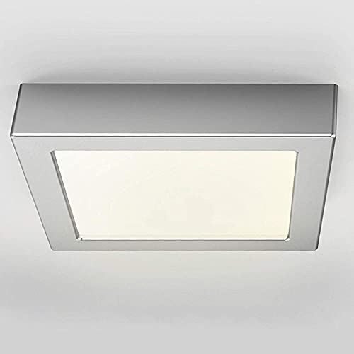 FactorLED Plafón Superficie LED Cuadrado 15W Osram,...