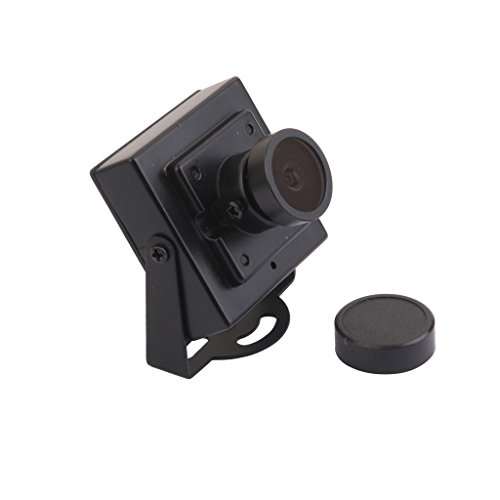 Sharplace Mini HD 700tvl 1/4 CCD 2.1mm CCTV Lente Gran Cámara Seguridad Ntsc