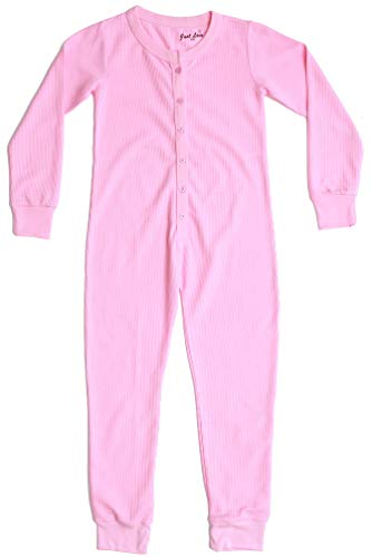 Just Love Thermal Union Suits for Girls 96363-PNK-10-12
