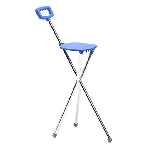 Gehhilfen Roller Walker - Klappbarer Rutschfester Hocker for Ältere Mitarbeiter, Unterarm Sicherheitsrahmen, Ältere Personen