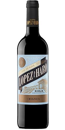 Hacienda Lopez De Haro Tinto Crianza Vino – 1 botella 0.75 l
