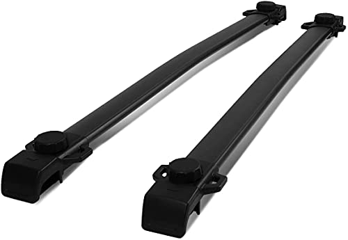 Baca Coche Universal Rack de techo Cruz de barra de barra compatible con uso adecuado para Jeep Renegade 2015 2017 2017 2018 2019 2019 2020 2021 Racks de carga Portero de equipaje en la azotea Barras
